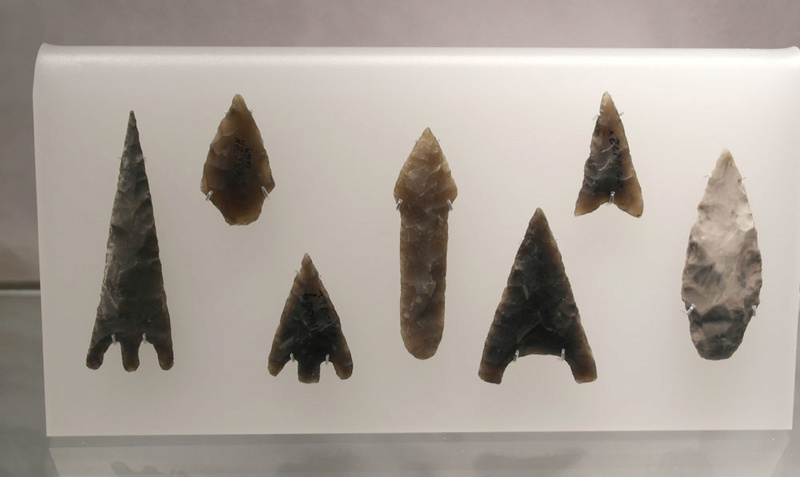 Lithics on display in museums _sam4810