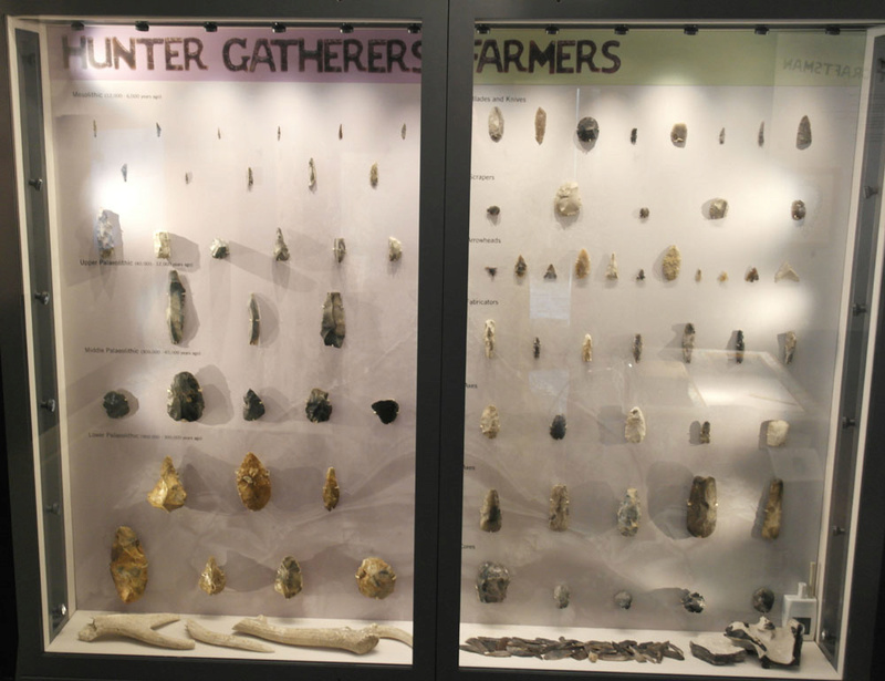 Lithics on display in museums _sam4812