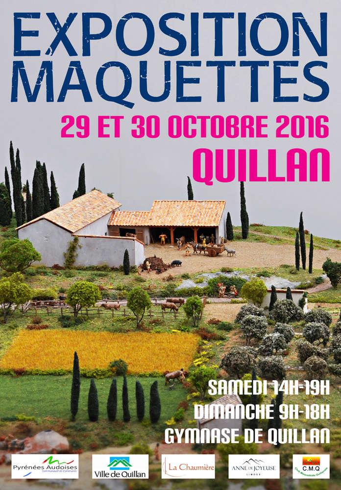 Exposition de modélisme à Quillan (11) Affich10