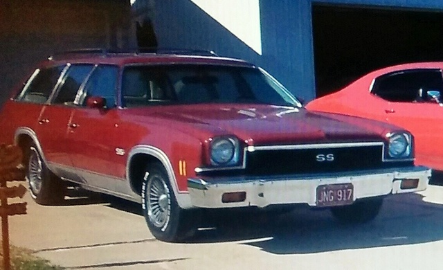 1973 Chevelle SS Station Wagon. The car that started the car craze for me as a child Wagon10