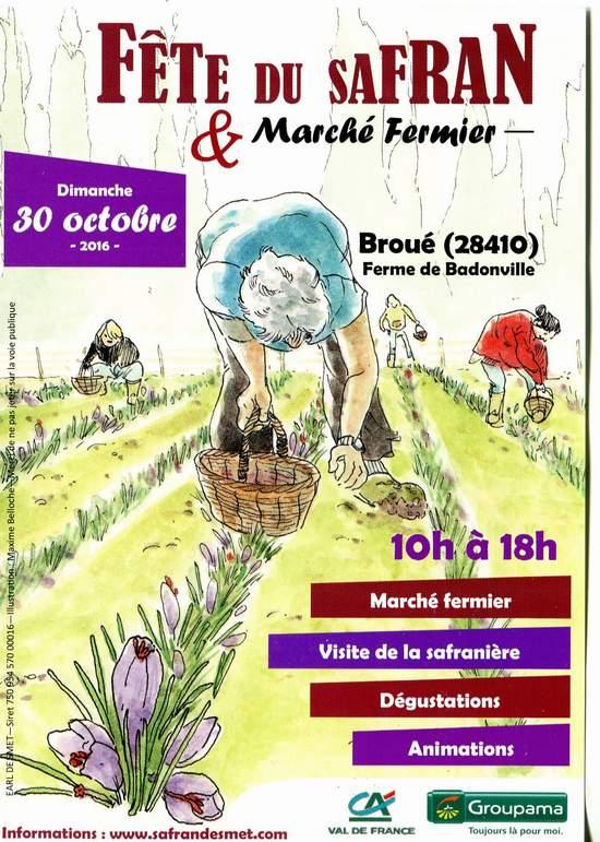 Fête du safran à Broué (28) Img77510