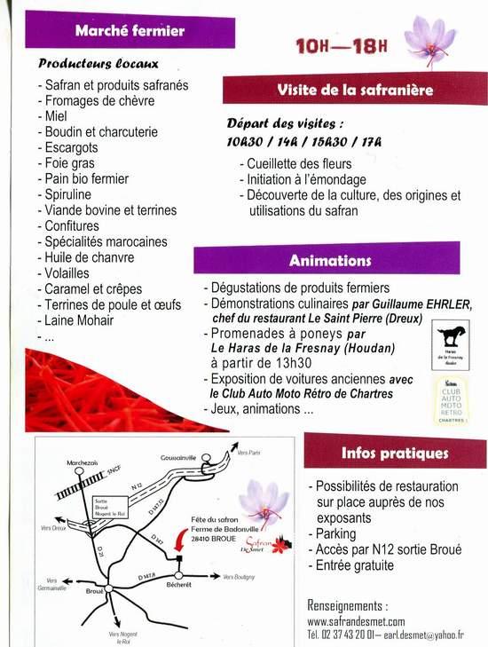 Fête du safran à Broué (28) Img77610