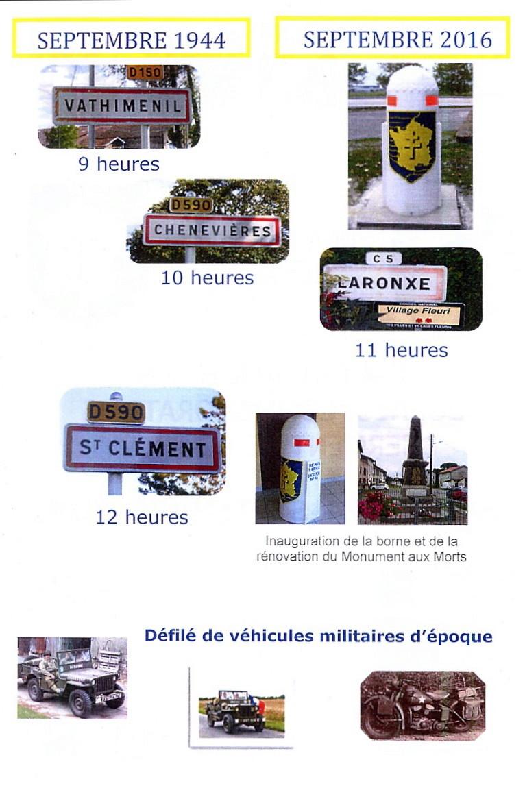 Borne du serment de Koufra: CHENEVIÈRES (54) Lorrai12