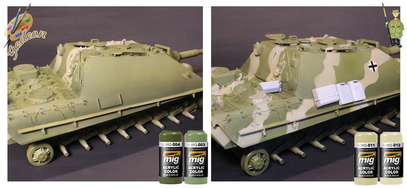 Jagdpanther Sd.Kfz.173 – 1/35ème Dragon - Equipage terminé 001_pl10