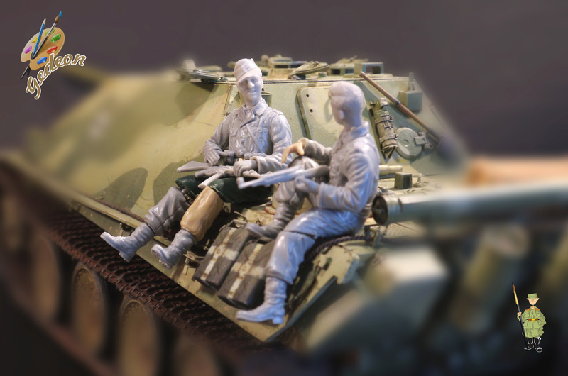 Jagdpanther Sd.Kfz.173 – 1/35ème Dragon - Equipage terminé - Page 3 10_fig27