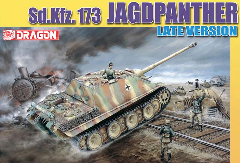 Jagdpanther Sd.Kfz.173 – 1/35ème Dragon - Equipage terminé 1_debu10