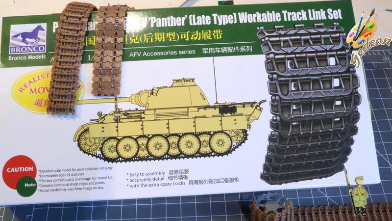 Jagdpanther Sd.Kfz.173 – 1/35ème Dragon - Equipage terminé 1_debu12