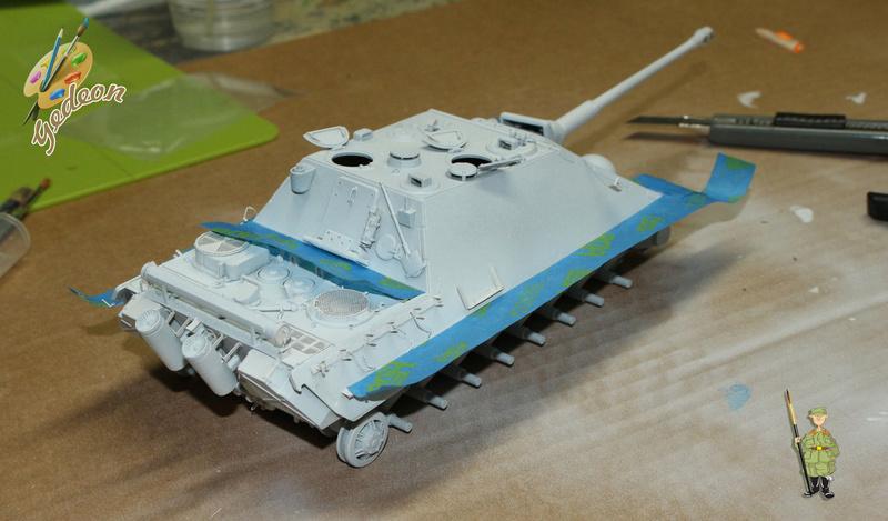 Jagdpanther Sd.Kfz.173 – 1/35ème Dragon - Equipage terminé 1_debu17