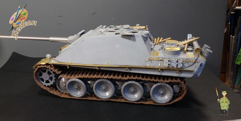 Jagdpanther Sd.Kfz.173 – 1/35ème Dragon - Equipage terminé 1_mont12