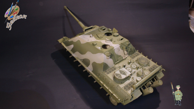 Jagdpanther Sd.Kfz.173 – 1/35ème Dragon - Equipage terminé 2_pein11