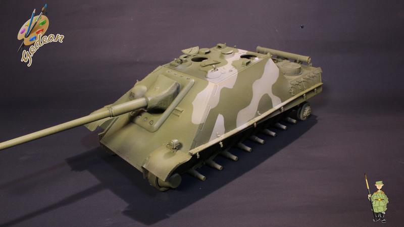 Jagdpanther Sd.Kfz.173 – 1/35ème Dragon - Equipage terminé 2_pein12