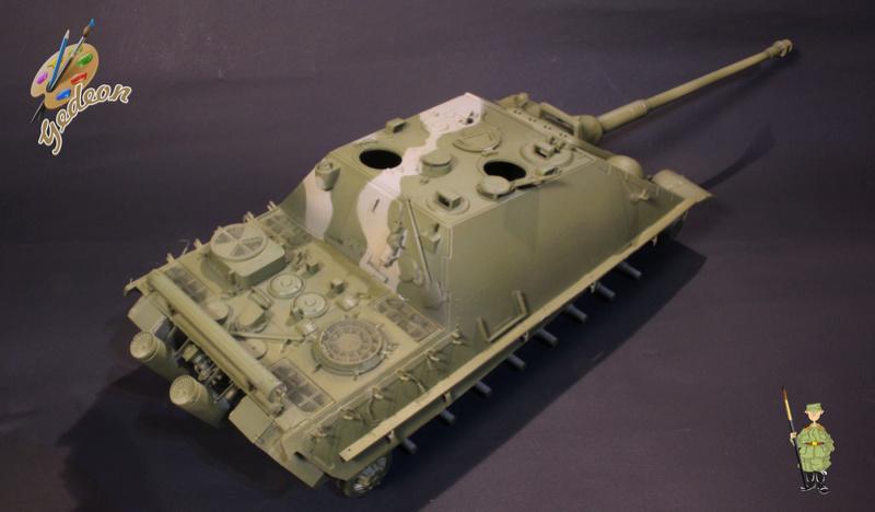 Jagdpanther Sd.Kfz.173 – 1/35ème Dragon - Equipage terminé 2_pein13