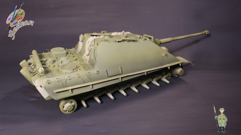 Jagdpanther Sd.Kfz.173 – 1/35ème Dragon - Equipage terminé 2_pein14