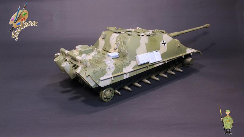 Jagdpanther Sd.Kfz.173 – 1/35ème Dragon - Equipage terminé 3_camo10