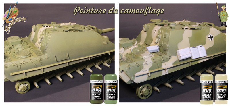 Jagdpanther Sd.Kfz.173 – 1/35ème Dragon - Equipage terminé 3_camo12