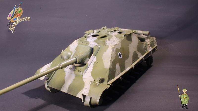 Jagdpanther Sd.Kfz.173 – 1/35ème Dragon - Equipage terminé 4_micr10