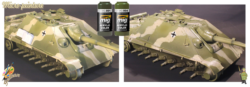 Jagdpanther Sd.Kfz.173 – 1/35ème Dragon - Equipage terminé 4_micr11