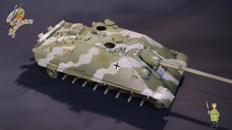 Jagdpanther Sd.Kfz.173 – 1/35ème Dragon - Equipage terminé 4_micr12
