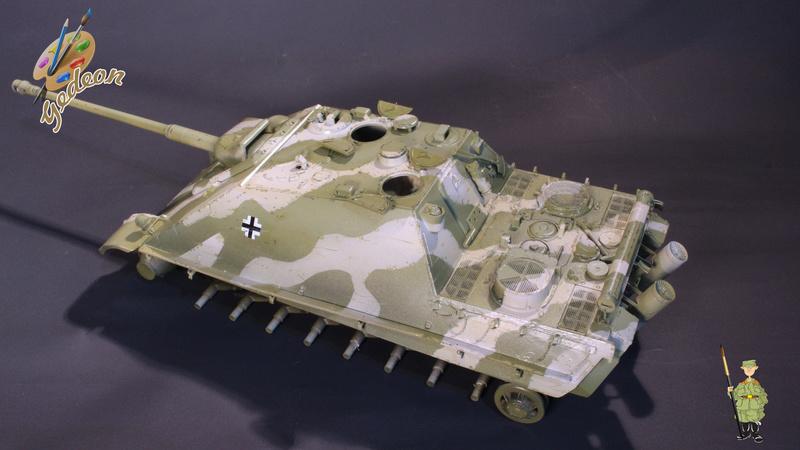 Jagdpanther Sd.Kfz.173 – 1/35ème Dragon - Equipage terminé 4_micr13