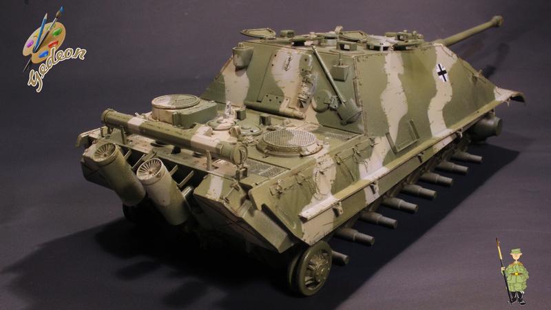Jagdpanther Sd.Kfz.173 – 1/35ème Dragon - Equipage terminé - Page 2 5_1er_10
