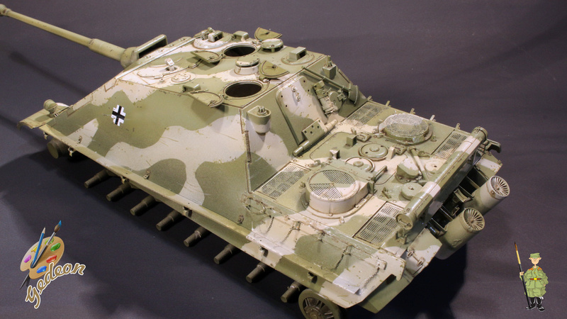 Jagdpanther Sd.Kfz.173 – 1/35ème Dragon - Equipage terminé - Page 2 5_1er_13