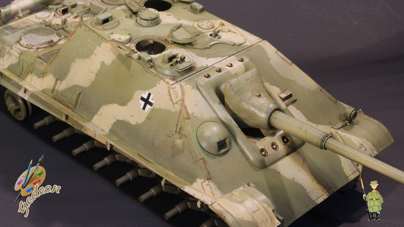 Jagdpanther Sd.Kfz.173 – 1/35ème Dragon - Equipage terminé - Page 2 6_dybu10
