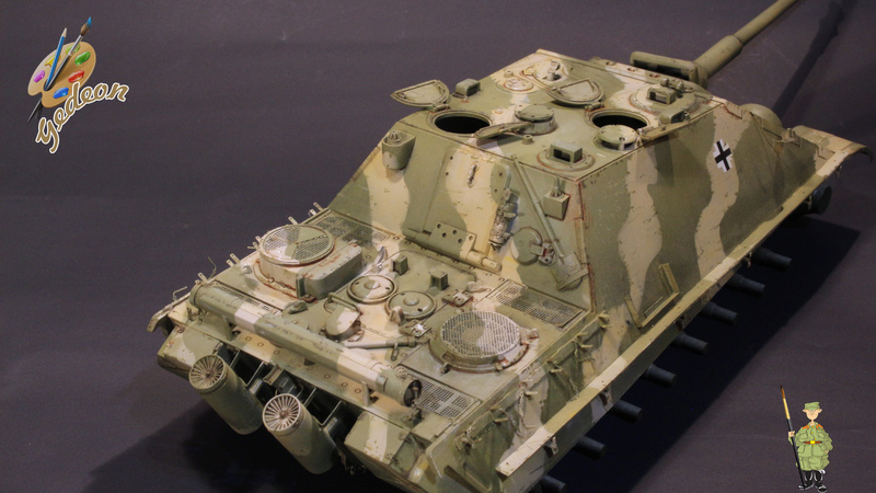 Jagdpanther Sd.Kfz.173 – 1/35ème Dragon - Equipage terminé - Page 2 6_dybu11
