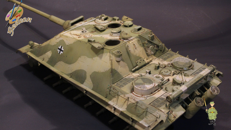 Jagdpanther Sd.Kfz.173 – 1/35ème Dragon - Equipage terminé - Page 2 6_dybu13