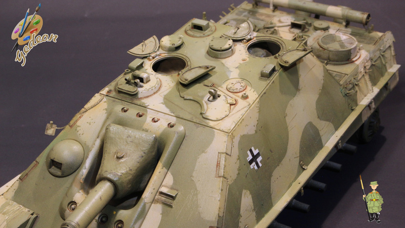 Jagdpanther Sd.Kfz.173 – 1/35ème Dragon - Equipage terminé - Page 2 6_dybu14
