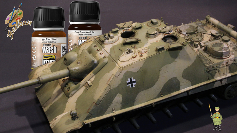 Jagdpanther Sd.Kfz.173 – 1/35ème Dragon - Equipage terminé - Page 2 6_dybu15