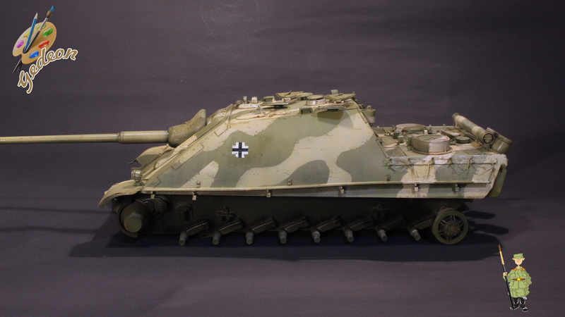 Jagdpanther Sd.Kfz.173 – 1/35ème Dragon - Equipage terminé - Page 2 6_dybu16
