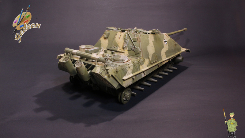 Jagdpanther Sd.Kfz.173 – 1/35ème Dragon - Equipage terminé - Page 2 7_bros12