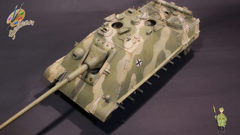 Jagdpanther Sd.Kfz.173 – 1/35ème Dragon - Equipage terminé - Page 2 7_bros13