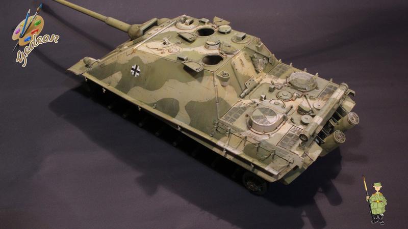 Jagdpanther Sd.Kfz.173 – 1/35ème Dragon - Equipage terminé - Page 2 7_bros14