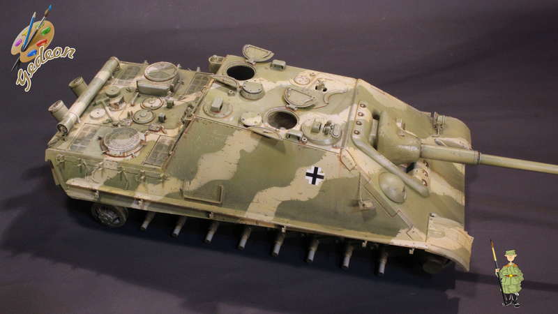 Jagdpanther Sd.Kfz.173 – 1/35ème Dragon - Equipage terminé - Page 2 7_bros15