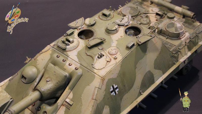 Jagdpanther Sd.Kfz.173 – 1/35ème Dragon - Equipage terminé - Page 2 7_bros17