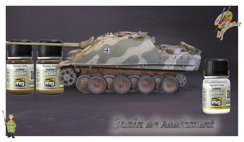 Jagdpanther Sd.Kfz.173 – 1/35ème Dragon - Equipage terminé - Page 3 8_trai16