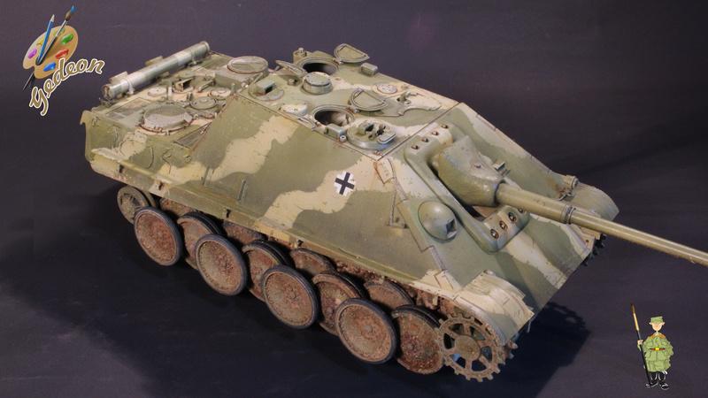 Jagdpanther Sd.Kfz.173 – 1/35ème Dragon - Equipage terminé - Page 3 8_trai19