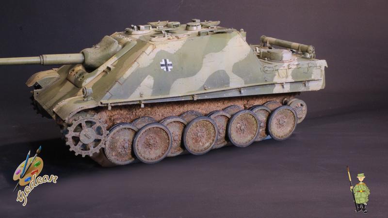 Jagdpanther Sd.Kfz.173 – 1/35ème Dragon - Equipage terminé - Page 3 8_trai20