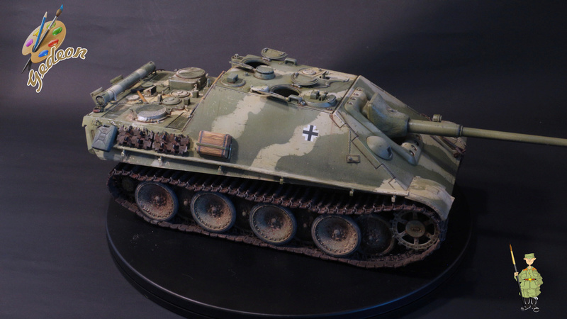 Jagdpanther Sd.Kfz.173 – 1/35ème Dragon - Equipage terminé - Page 3 9_yqui18