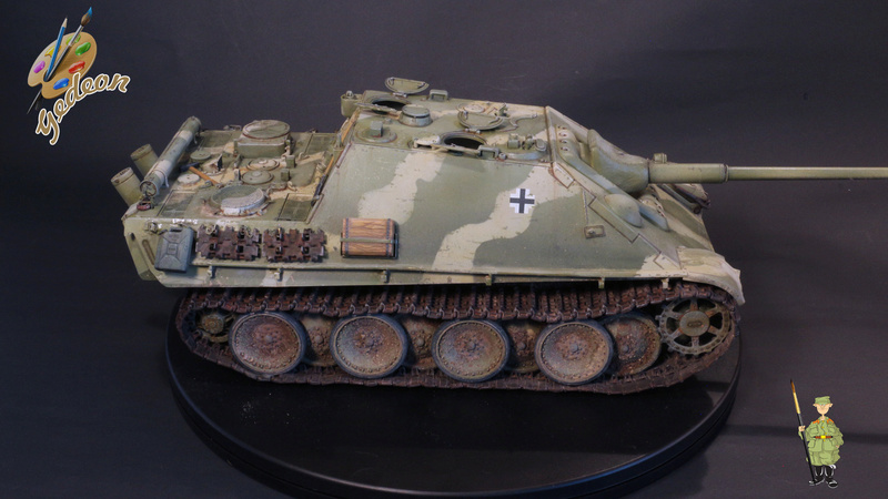 Jagdpanther Sd.Kfz.173 – 1/35ème Dragon - Equipage terminé - Page 3 9_yqui19