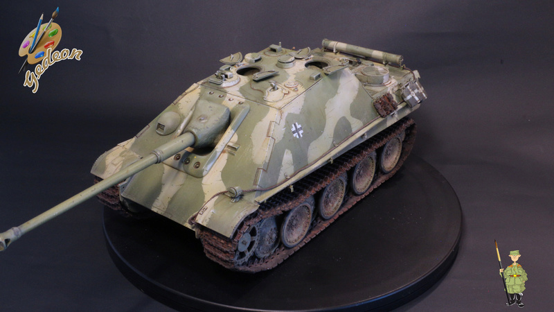 Jagdpanther Sd.Kfz.173 – 1/35ème Dragon - Equipage terminé - Page 3 9_yqui20