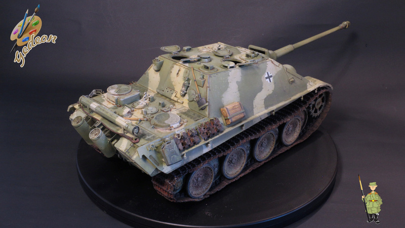 Jagdpanther Sd.Kfz.173 – 1/35ème Dragon - Equipage terminé - Page 3 9_yqui21