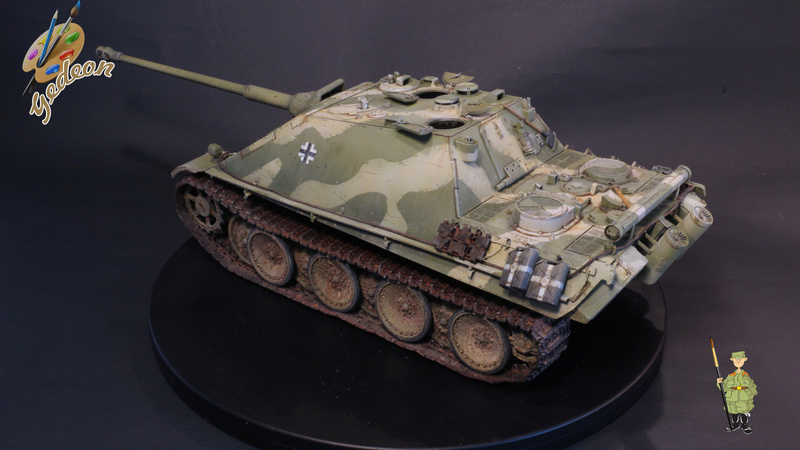 Jagdpanther Sd.Kfz.173 – 1/35ème Dragon - Equipage terminé - Page 3 9_yqui22