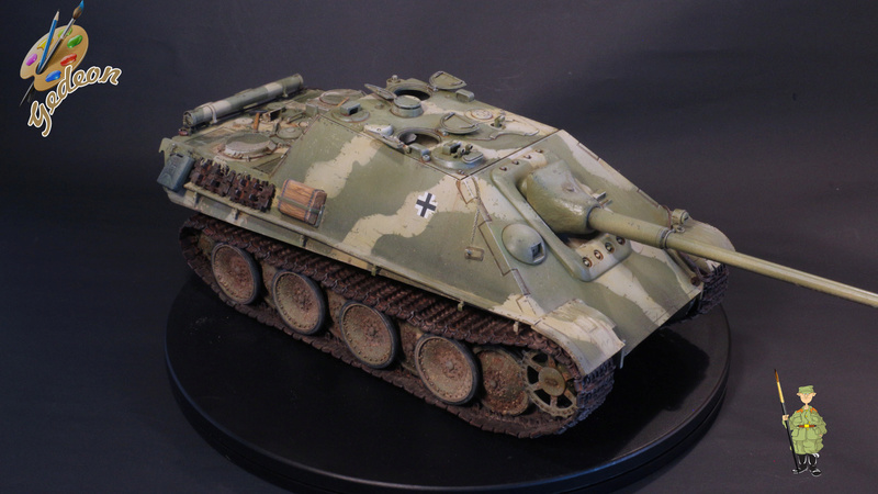 Jagdpanther Sd.Kfz.173 – 1/35ème Dragon - Equipage terminé - Page 3 9_yqui23