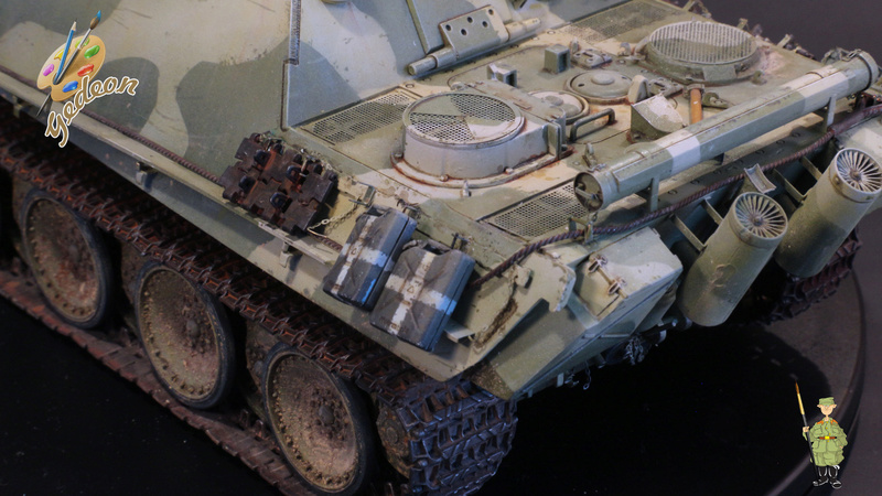 Jagdpanther Sd.Kfz.173 – 1/35ème Dragon - Equipage terminé - Page 3 9_yqui24
