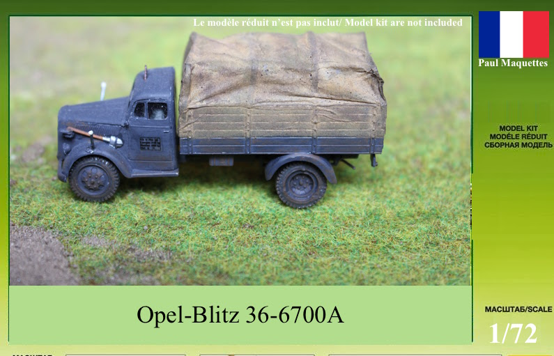 [SCRATCH intégral] Opel Blitz 3.6 au 1/72 110