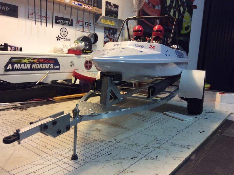 NQD jet boat modifié et transformé Image15