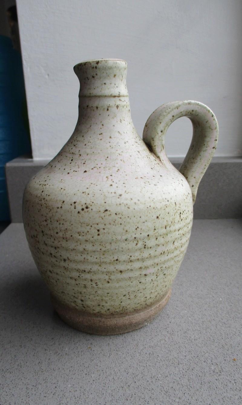 Small Stoneware Jug Pinkish Tone  Img_0716