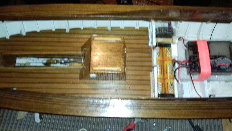 Pinasse du bassin d'Arcachon au 1/10ieme d'après plan bateau modèle de 1995 - Page 6 510